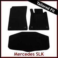 Tailored Carpet Floor & Boot Mats for MERCEDES SLK R171 2004-2011 BLACK