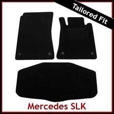 Mercedes SLK R171 2004-2011 a medida Alfombras coche Alfombrillas de piso & Bota Negro