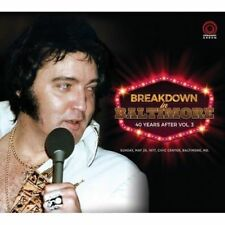 Elvis Presley 2 CD's Breakdown In Baltimore - 40 Years After Vol. 3 - Digipack