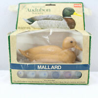 Craft House Woodlike Collector Carvings Mallard 36151 National Audubon Society
