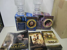 LORD OF THE RINGS - GOBLET + BOXES x 2 -  TAPES -  BOOK