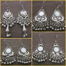 4 pair Earrings Handmade Tribal Gypsy Kuchi Banjara Indian Retro Fashion Jewelry