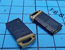 Dam Toys 1:6 DCG001 Combat Girl Gemini Zona Figure - PMAG 20rd Rifle Clips