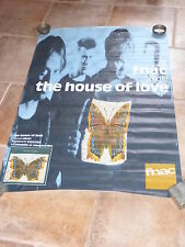 HOUSE OF LOVE !!! MEGA RARE FRENCH VINTAGE POSTER !!!!!!80 X 120 CM!!!!!!!!!!!