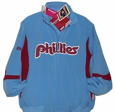 Philadelphia PHILLIES MAJESTIC COOPERSTOWN Jacket Womens L