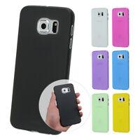 UltraSlim Case Samsung S6 / Edge Fein Matt Clear Skin Schutz Hülle Cover Schale