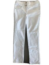 George Jeans Size 7 white With Grey Stitching  mint condition