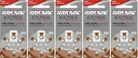 Rayovac Extra Hearing Aid 312 Size batteries Zinc air 30 - 240 cells