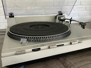 Vintage Technics SL-D5 Direct Drive Turntable Automatic Record Player. Read