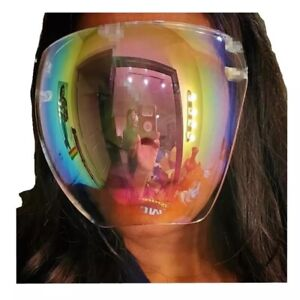 Bubble Face Shield Protective mask Cover Transparent Glasses Visor Anti-Fog