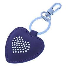 SWAROVSKI Key Ring Heart motif Ladies Authentic Used Y2431