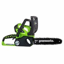 GreenWorks Chainsaw 12-Inch Cordless 40V with Lithium Ion 2AH Battery & Charger