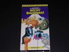 THE ADVENTURES OF ROCKY & BULLWINKLE VCR Video Tape FUNNY STUFF