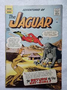 The Adventures of the Jaguar #4 (Jan 1962, Archie) [GD/VG 3.0]
