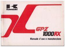 Anleitung Anleitung Kawasaki GPZ1000RX Ausgabe 1986
