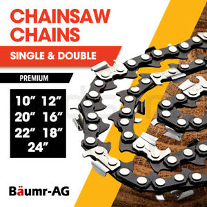 "BAUMR-AG Chainsaw Chain Chains Replacement 10"" 12"" 16"" 18"" 20"" 22"" 24"" Spare"