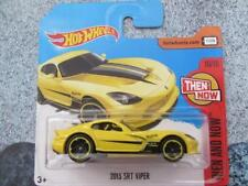 Hot Wheels 2017 # 199/365 2013 Srt Dodge Viper GIALLO HW POI AND NOW