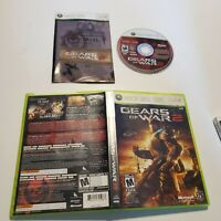 Gears of War 2 - XBox 360 - Complete - Tested - B+ Condition - Fast Shipping