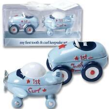 Little Racer First Tooth & Curl Baby Keepsake Set : New Baby Keepsake Gifts
