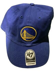 '47 BRAND Golden State WARRIORS Adjustable Strap Dad Hat Cap NBA STEPH CURRY