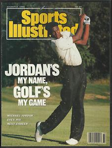 Michael Jordan Sports Illustrated Chicago Bulls No Label 1989 Golf's My Game