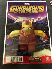 Guardians of the Galaxy #7 Marvel Comics 2013 Lego Iron Man 1:25 Variant Cover