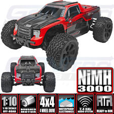 Redcat Racing 1/10 Blackout XTE 4WD Electric Monster Truck RTR Red w/ Batt /Chgr