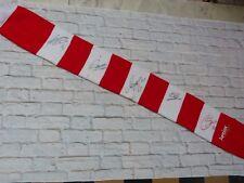 Echarpe scarf ARSENAL Gunners fc signed signé CAZORLA GIROUD OZIL SANCHEZ WALCOT