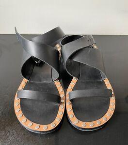 ISABEL MARANT, Circus Maximus Sandals, Size 37