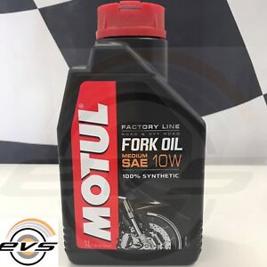 Olio Forcella Motul Factory Line SAE 10W 100% Sintetico Fork Oil 1 LT