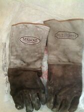 Vermont Castings Safety Wood Stove Fireplace Protective Gloves