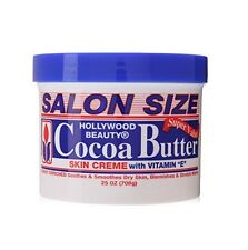Hollywood Beauty Cocoa Butter Skin Creme With Vitamin E - SALON SIZE 25oz (708g)