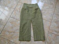D6491 SOAP Studio maxi Woll rock 36 verde tonos crema jaspeadas como nuevo