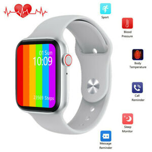 Sport Smart Watch Body Temperature Heart Rate ECG Monitor for iPhone Android