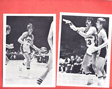 1975  KENTUCKY COLONELS  GLOSSY  TEAM ISSUED  5.5  X 7   PLAYER PHOTOS  X 10
