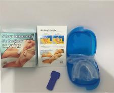Dispositivo de Boca mandibular anti Ronquido Dejar Roncar Ayuda-cura apnea del sueño NUEVO