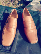HUDSON JACKSON SLIP ON LOAFERS SIZE 41  MADE IN ITALY