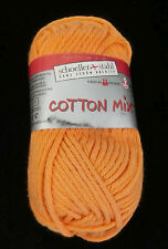 (49,80 €/kg): 850 Gramm  Schoeller+Stahl Cotton Mix, Fb. 020 orange #1648