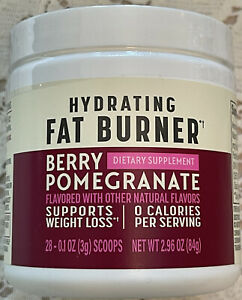 💕NEW Nutrisystem Berry Pomegranate Hydrating Fat Burner Dietary Supplement