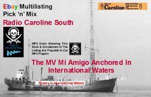 Pirate Radio Caroline South The Sixties PICK 'n MIX (MULTILISTING)