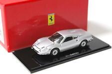 1:43 Kyosho Ferrari Dino 246GT Coupe silver metallic