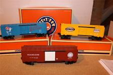 NEW LIONEL 29282 -  6464 ARCHIVE SERIES 3 PACK BOXCAR SET- MINT- R1