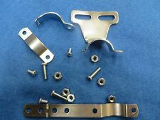 Bicycle Chain Guard Bracket Bolt & Accessories in Silver - New