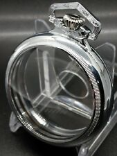 SP Display Salesman 18s Pocket Watch CASE for Railroad,Lever Set,or Stem Set
