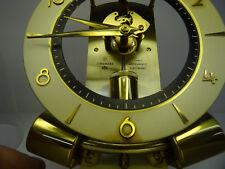Mid Century 60s glassdom clock nobile JUNGHANS ATO magnetico pendolo orologio stupendo orologio da tavolo 60er