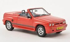 Opel Corsa Spider Irmscher I 120 1985 Red 1:43 Model NEO SCALE MODELS