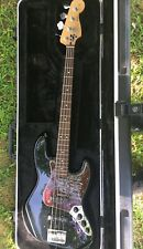 Fender jazz bass deluxe Super W/ SKB TSA  Hard case See Description & Pics