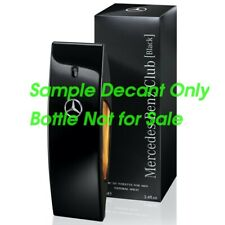 Mercedes Benz Club Black - 5ml 10ml 30ml Sample Decant