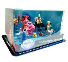 Disney The Little Mermaid 30 Years Deluxe Figurine Play Set 10 pc Brand New