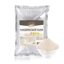 Flohsamenschalen Pulver indisch feinst gemahlen 60 mesh 99% Reinheit 2x 500 g
